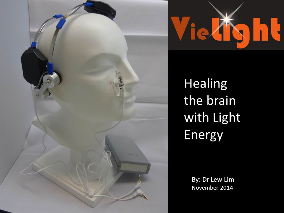 Healing the brain with Light Energy