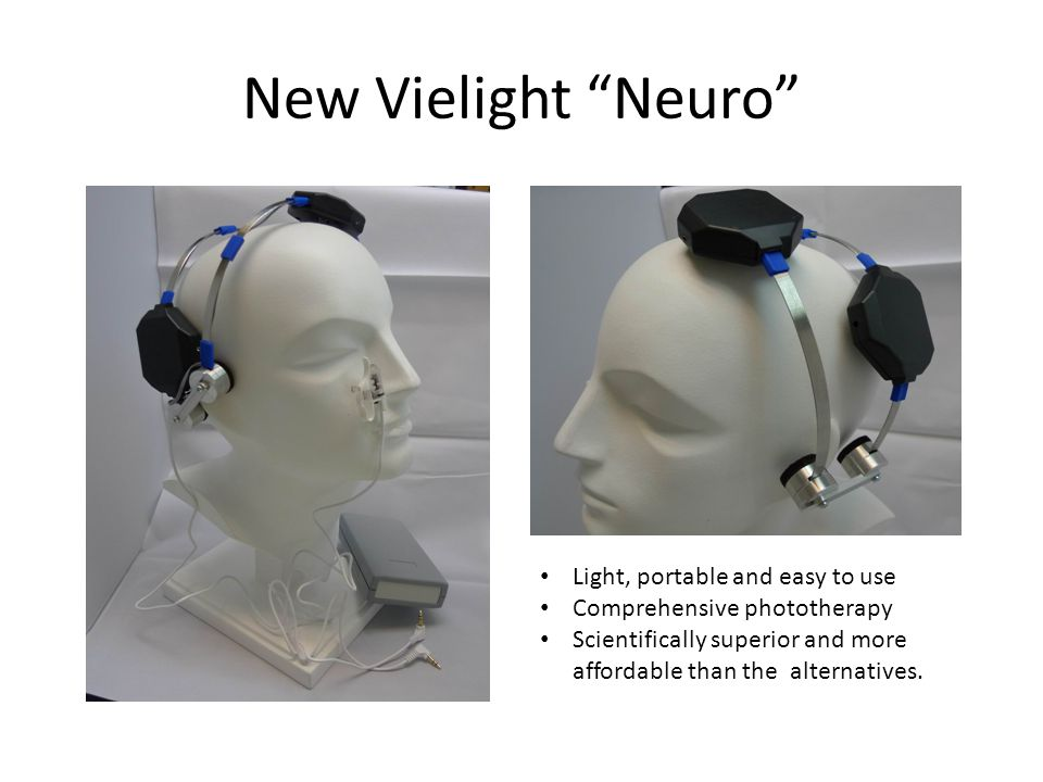 New Vielight Neuro Light, portable and easy to use