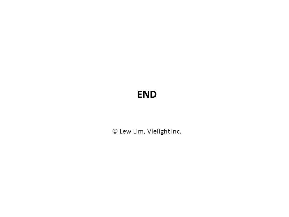 END © Lew Lim, Vielight Inc.