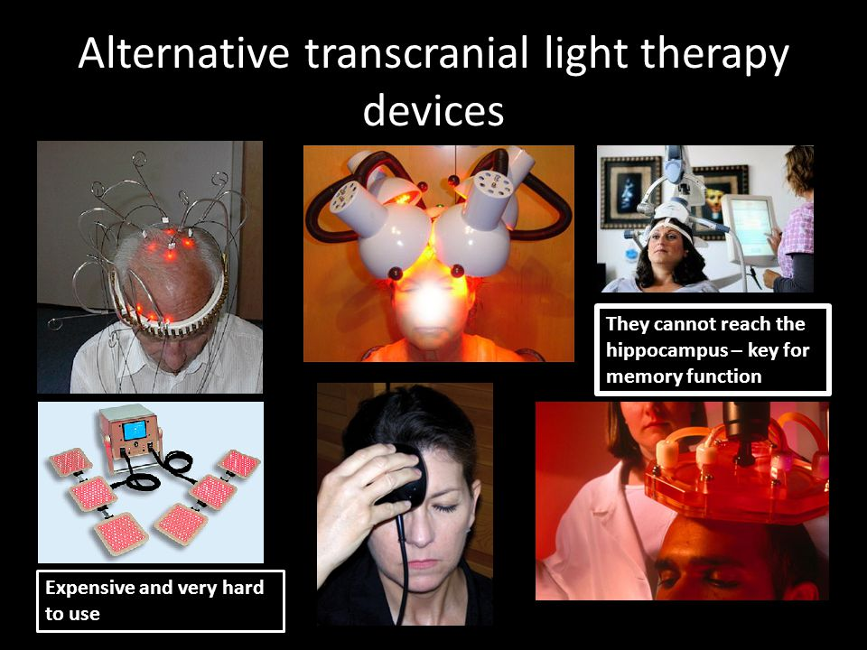 Alternative transcranial light therapy devices