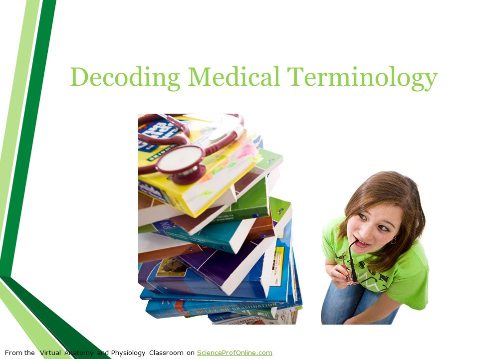 Decoding Medical Terminology