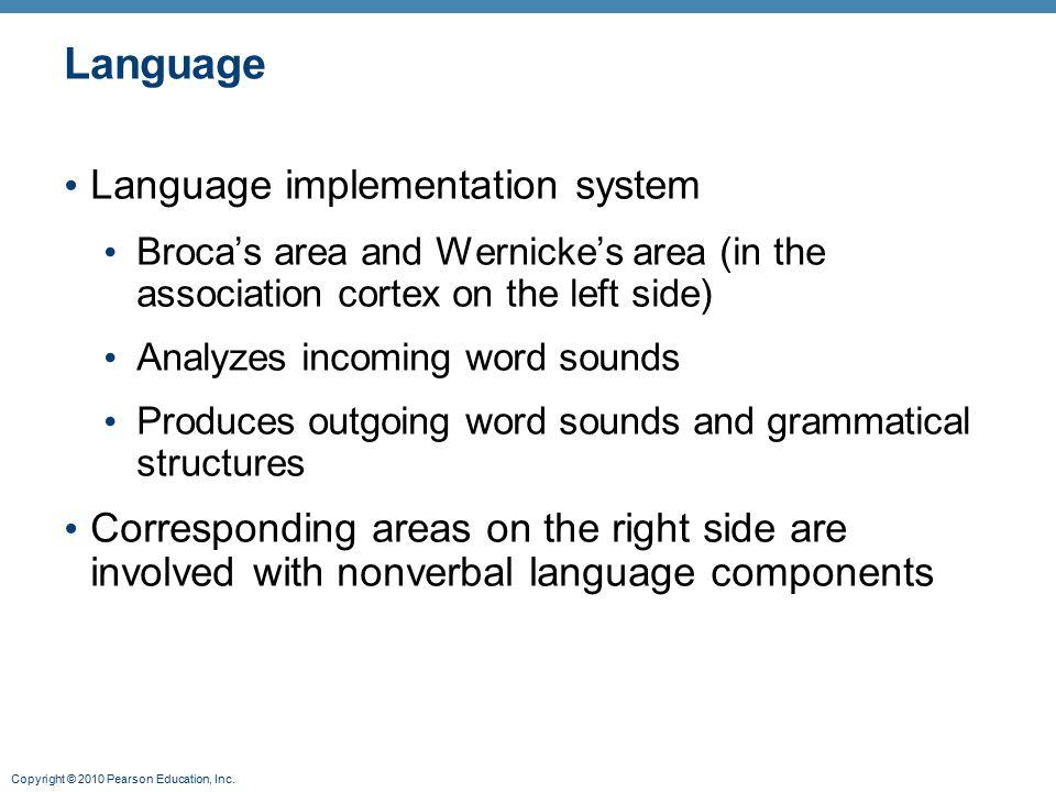 Language Language implementation system