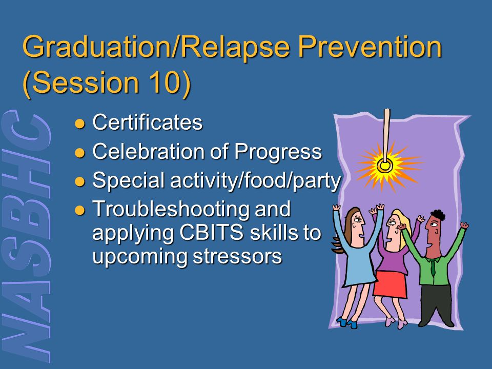Graduation/Relapse Prevention (Session 10)