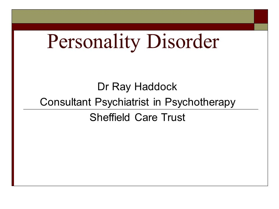 Consultant Psychiatrist in Psychotherapy