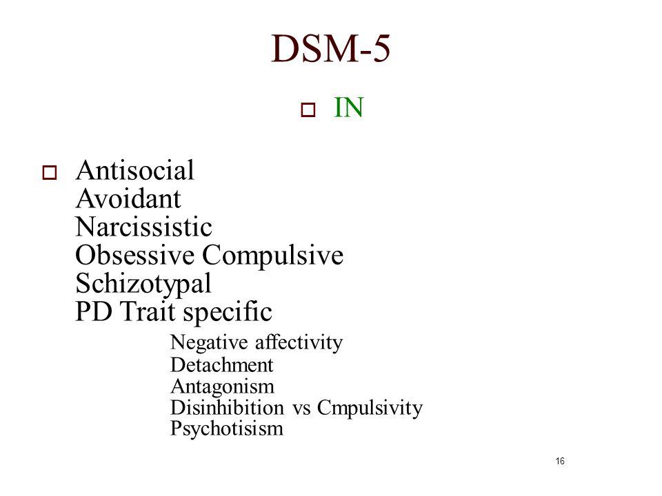 DSM-5 IN.