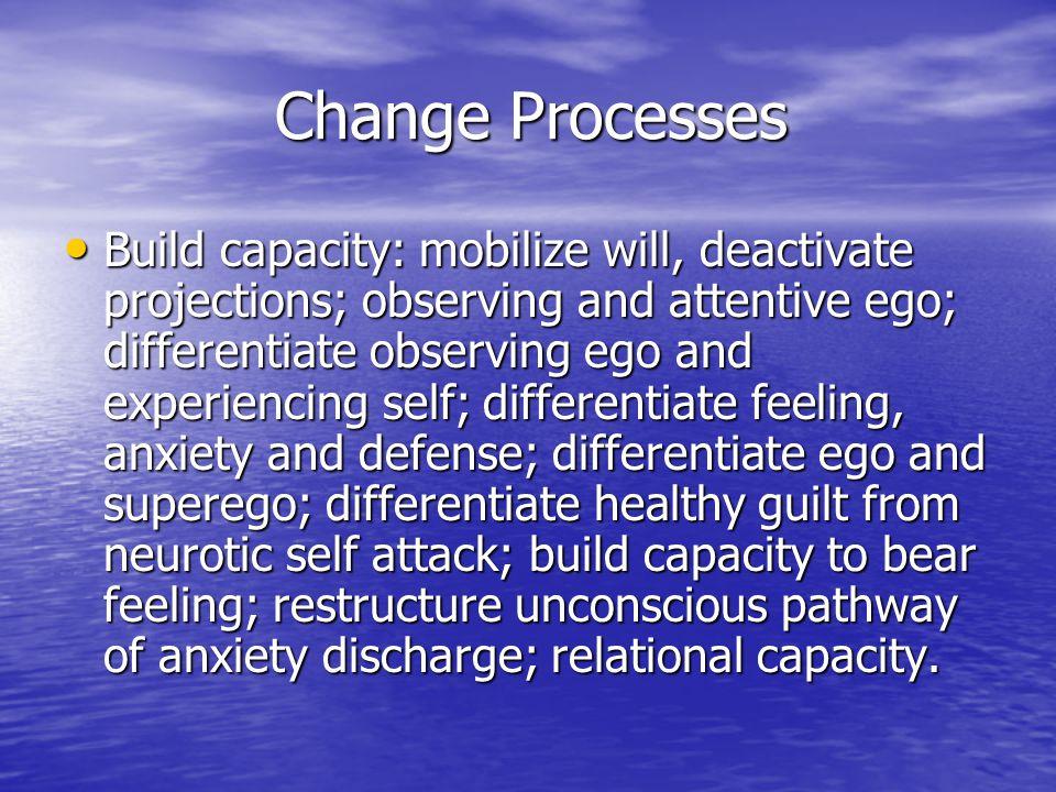 Change Processes