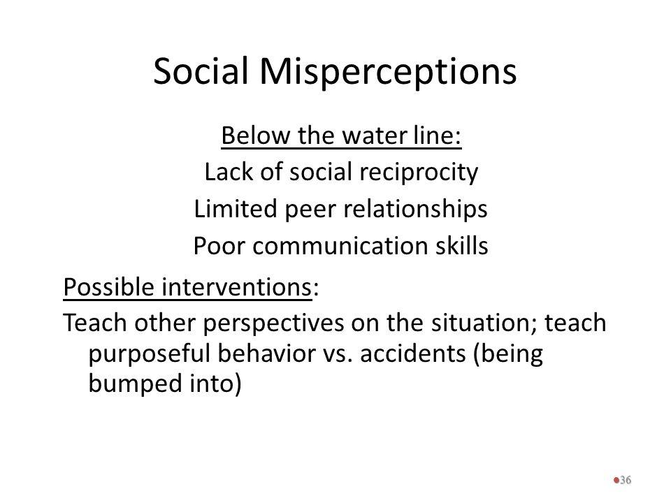 Social Misperceptions
