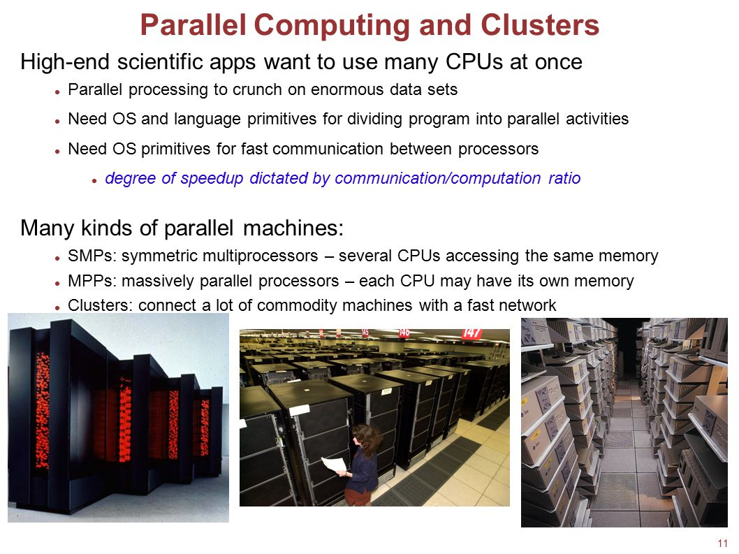 Parallel Computing and Clusters