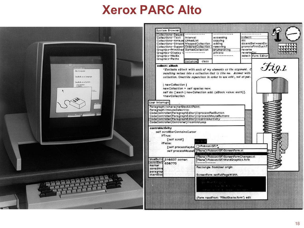 Xerox PARC Alto