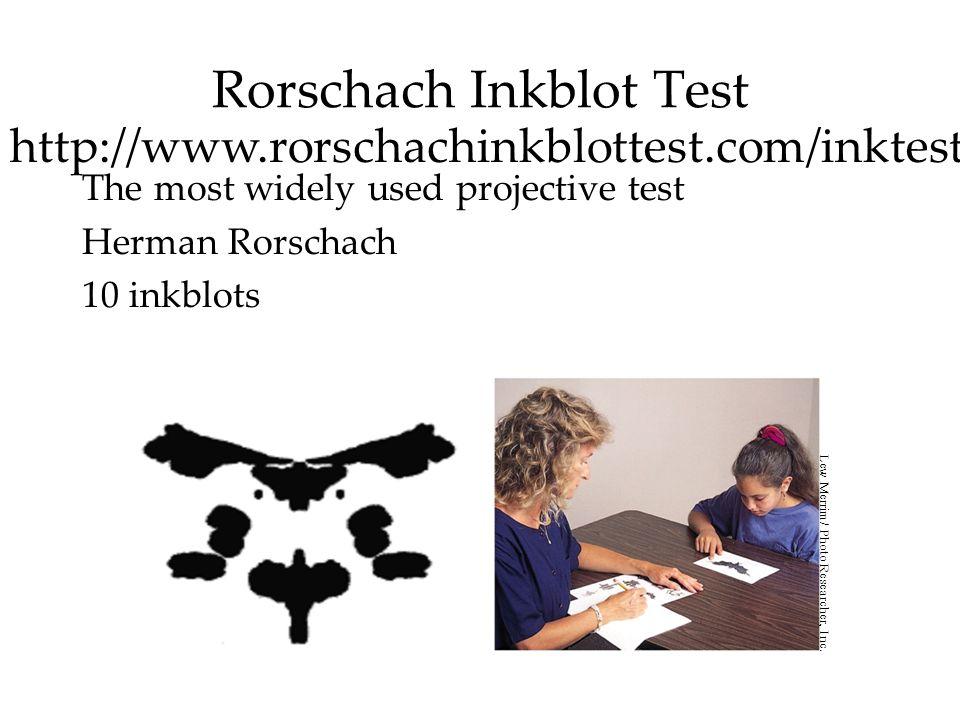 Rorschach Inkblot Test