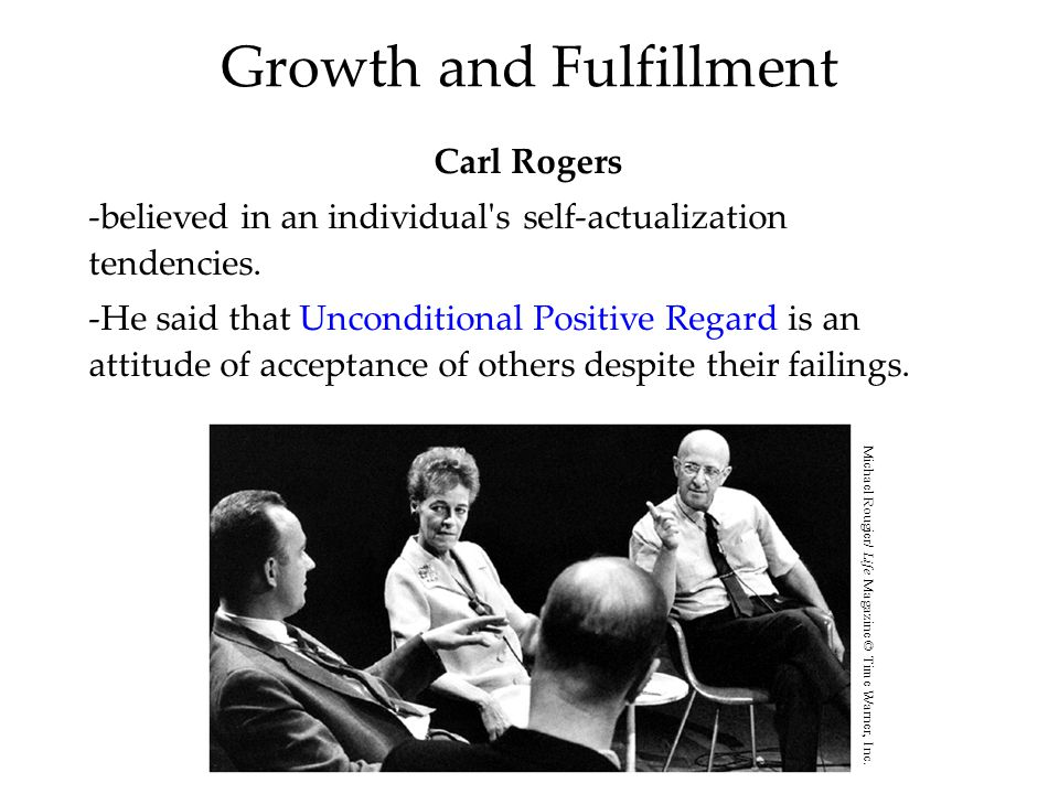 Growth and Fulfillment