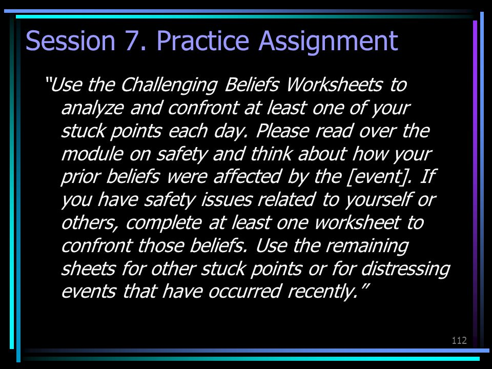 Session 7. Practice Assignment