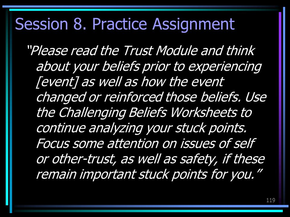 Session 8. Practice Assignment