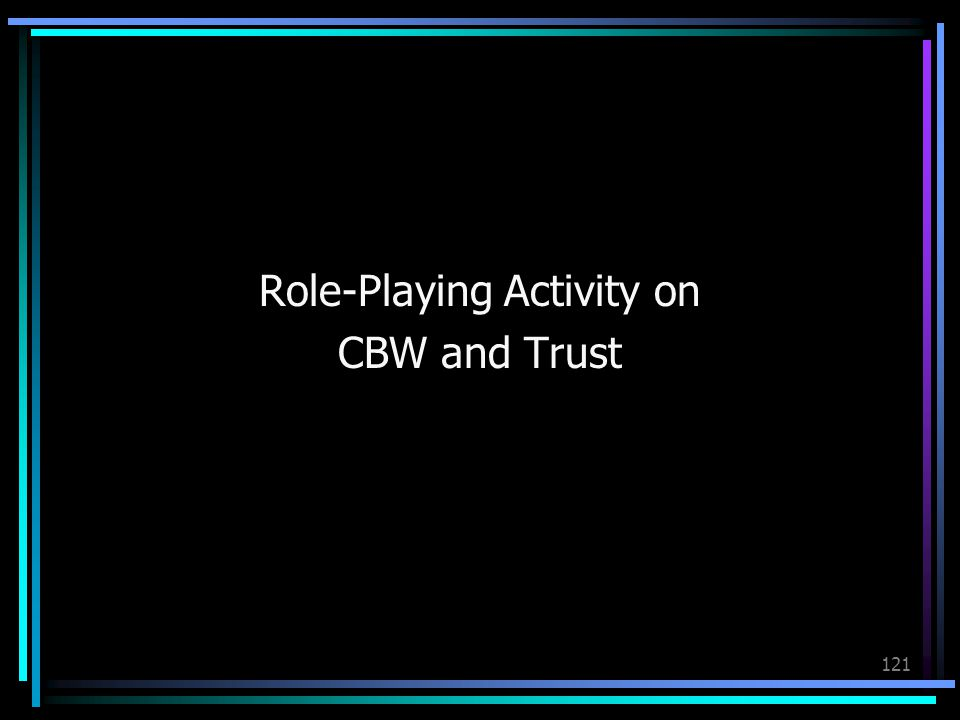 Role-Playing Activity on