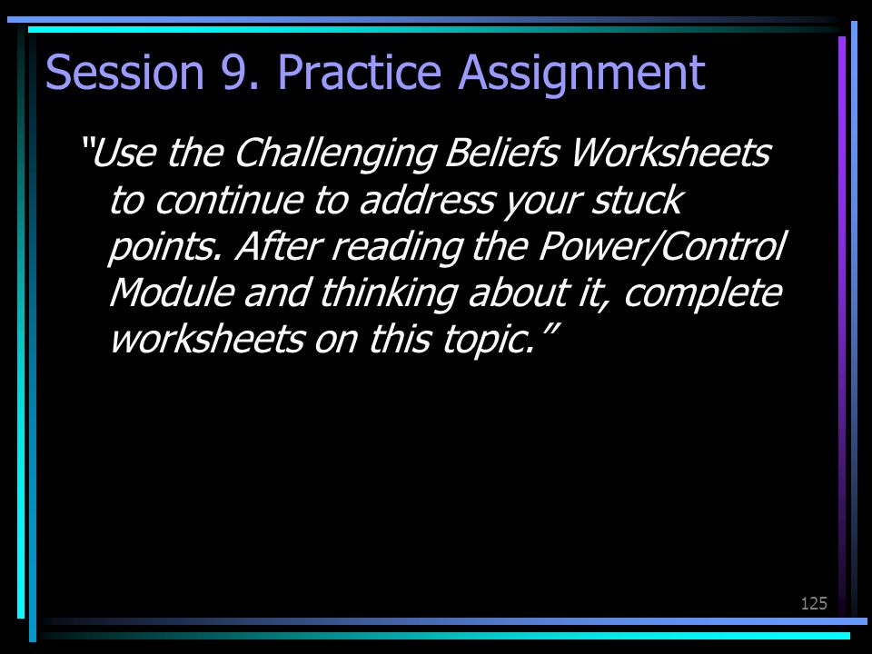 Session 9. Practice Assignment