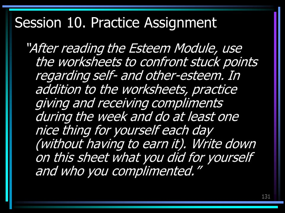 Session 10. Practice Assignment