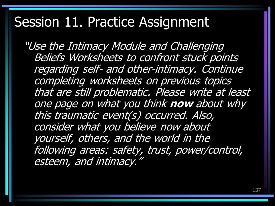 Session 11. Practice Assignment
