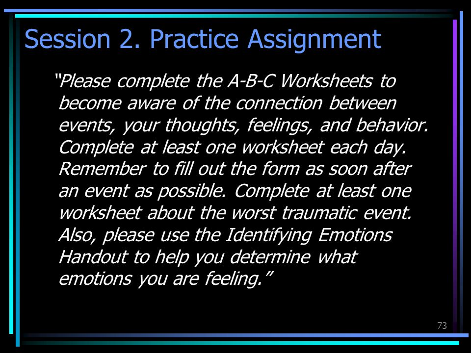 Session 2. Practice Assignment