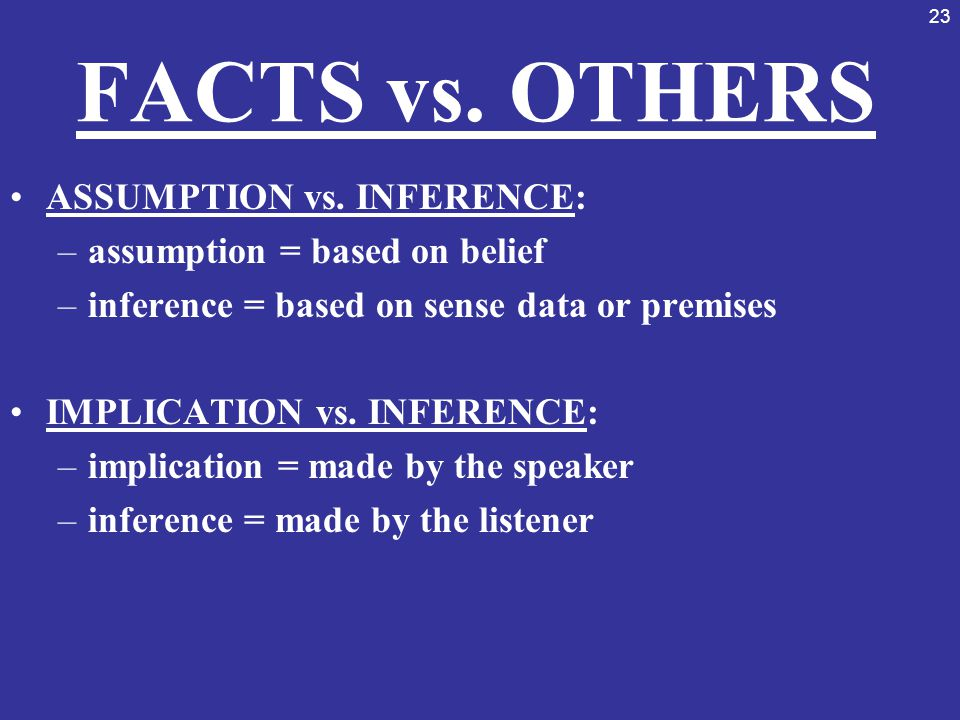 fact or inference Evidentiary inferences (if a circumstantial evidence charge is to be given, the following should be omitted) in evaluating the evidence, you may consider any fact that.
