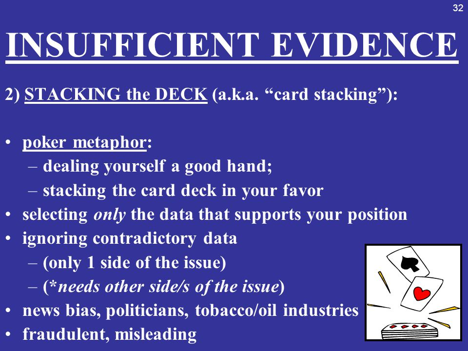INSUFFICIENT EVIDENCE