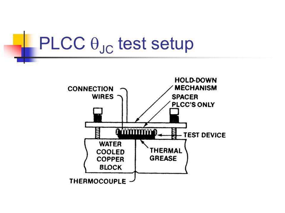 PLCC qJC test setup