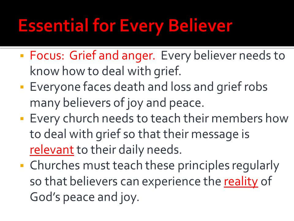 Essential for Every Believer