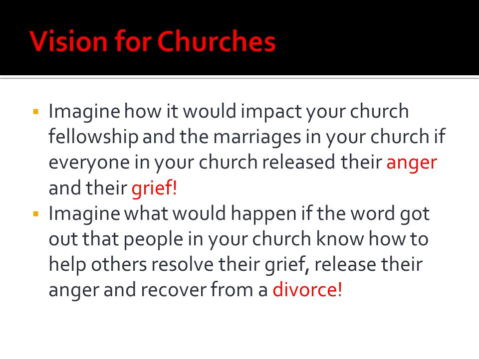 Vision for Churches
