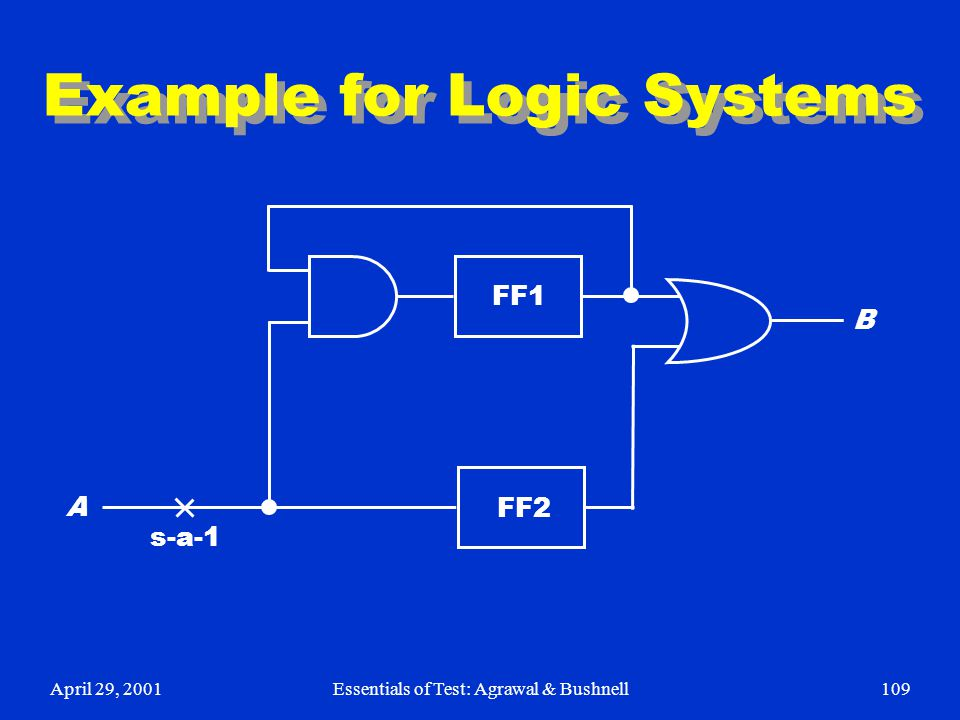 Example for Logic Systems
