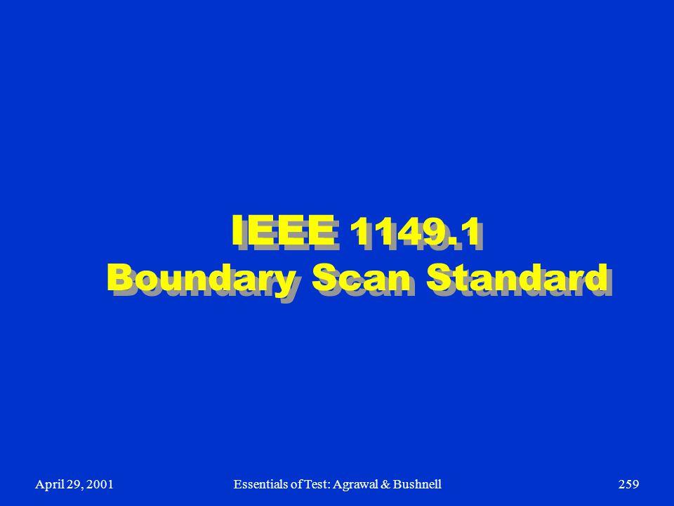 IEEE 1149.1 Boundary Scan Standard