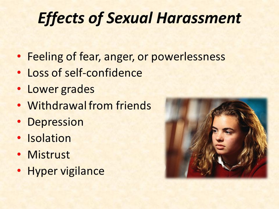 Effects of Sexual Harassment