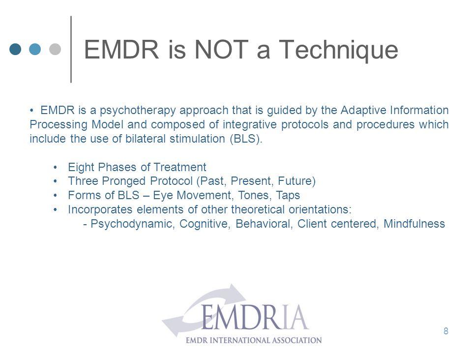 EMDR is NOT a Technique