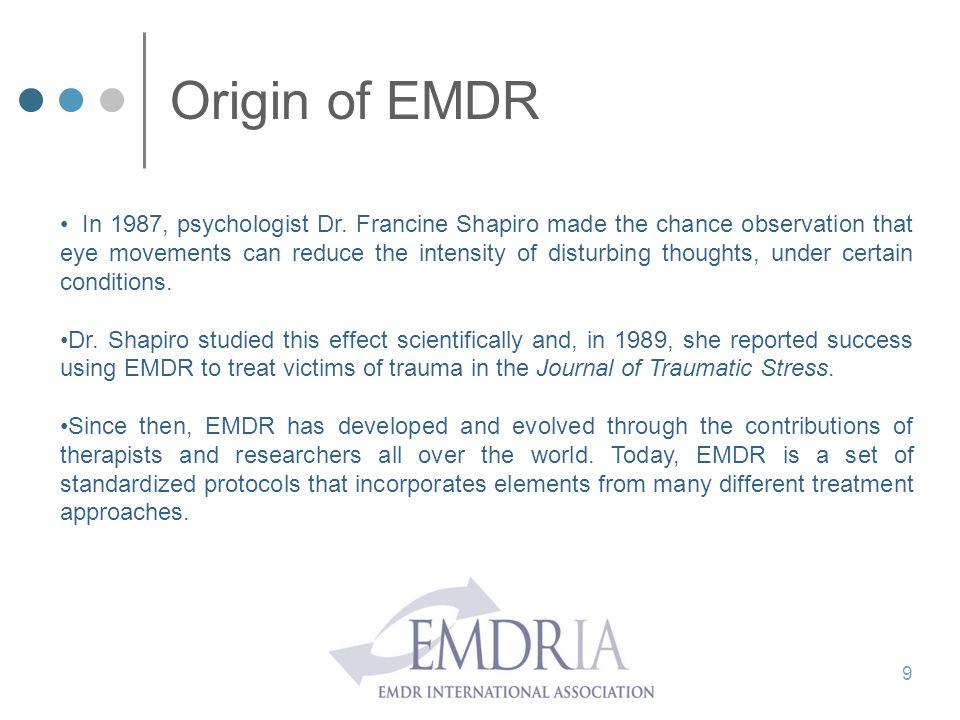Origin of EMDR