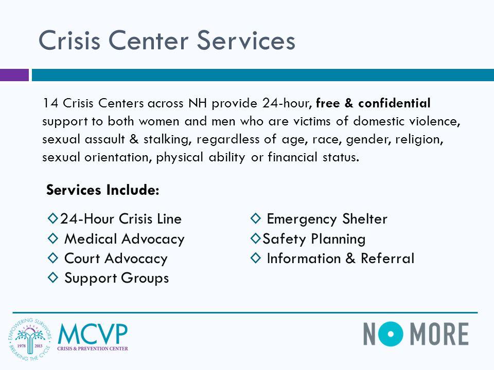 Crisis Center Services