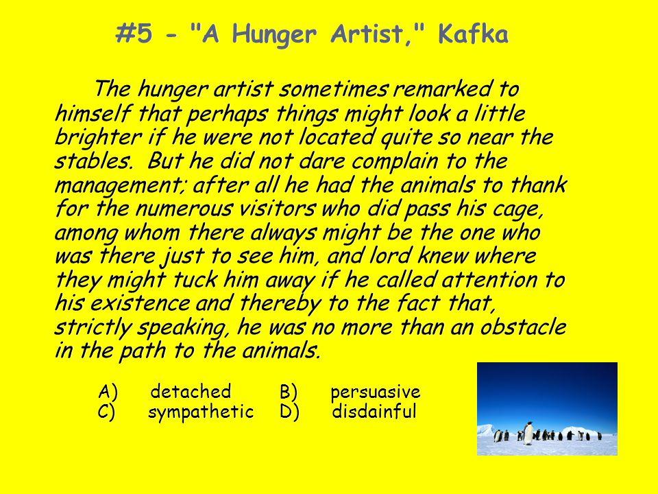 #5 - A Hunger Artist, Kafka