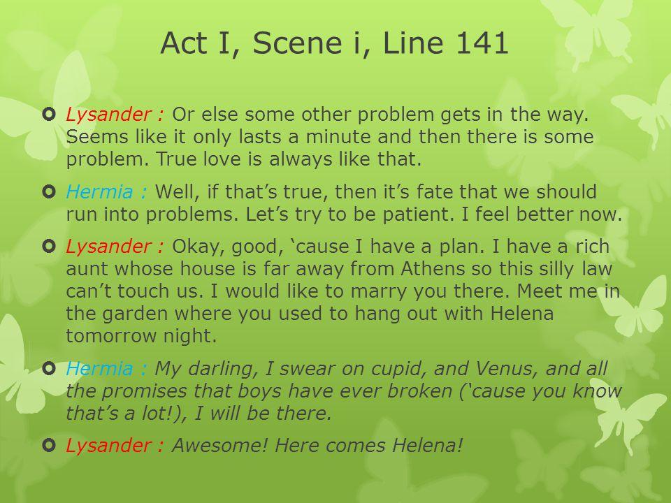 Act I, Scene i, Line 141