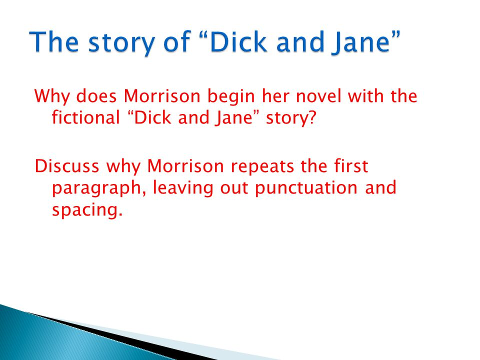 The story of Dick and Jane