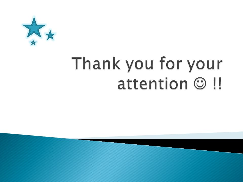 Thank you for your attention  !!