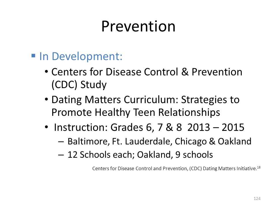 Prevention In Development: