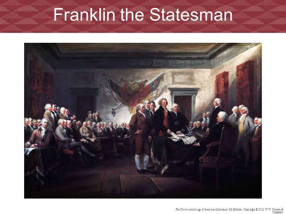 Franklin the Statesman