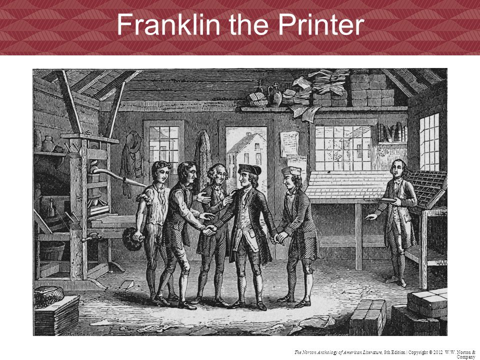 Franklin the Printer