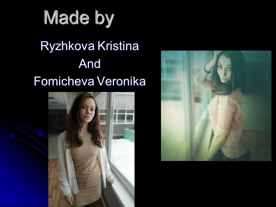 Ryzhkova Kristina And Fomicheva Veronika