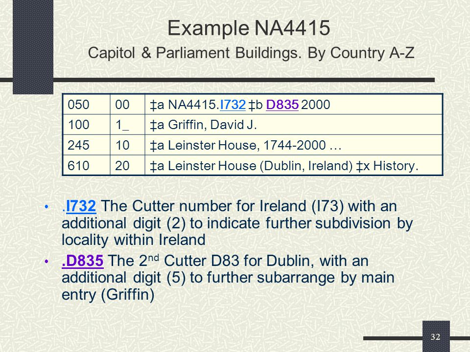 Example NA4415 Capitol & Parliament Buildings. By Country A-Z