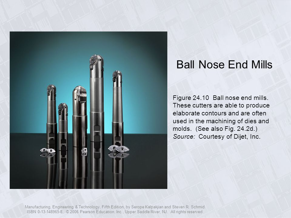 Ball Nose End Mills