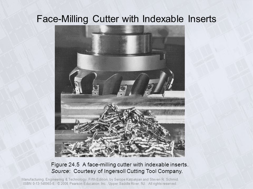 Face-Milling Cutter with Indexable Inserts