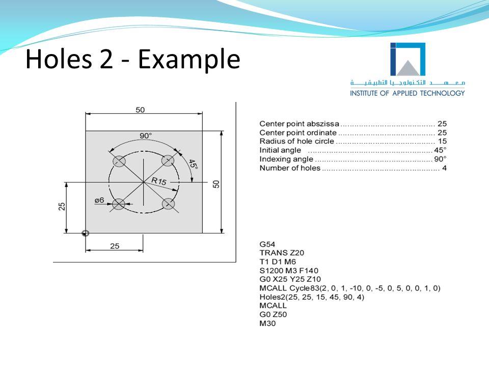Holes 2 - Example
