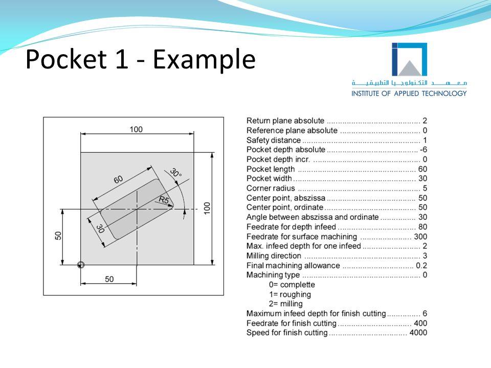 Pocket 1 - Example