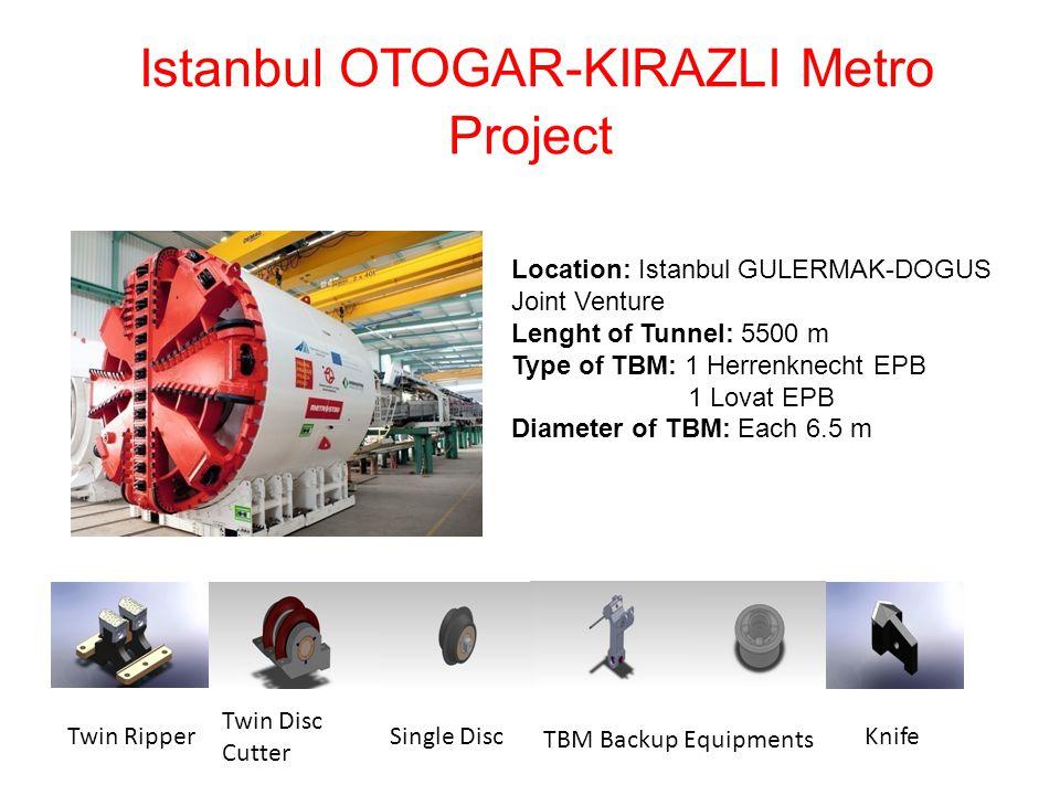 Istanbul OTOGAR-KIRAZLI Metro Project
