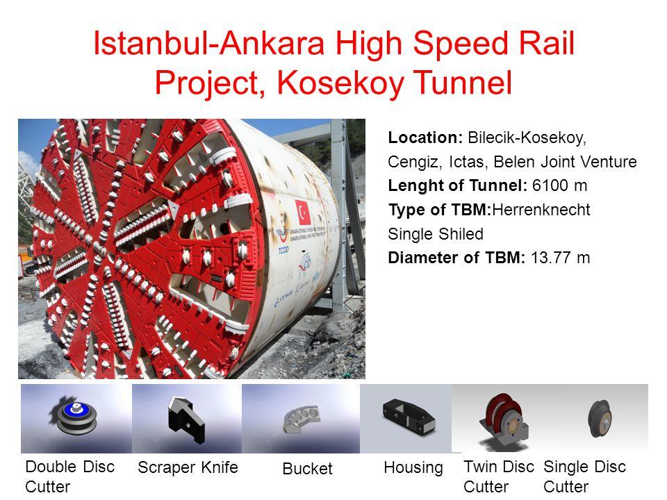 Istanbul-Ankara High Speed Rail Project, Kosekoy Tunnel