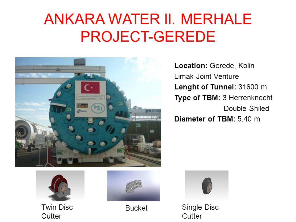 ANKARA WATER II. MERHALE PROJECT-GEREDE