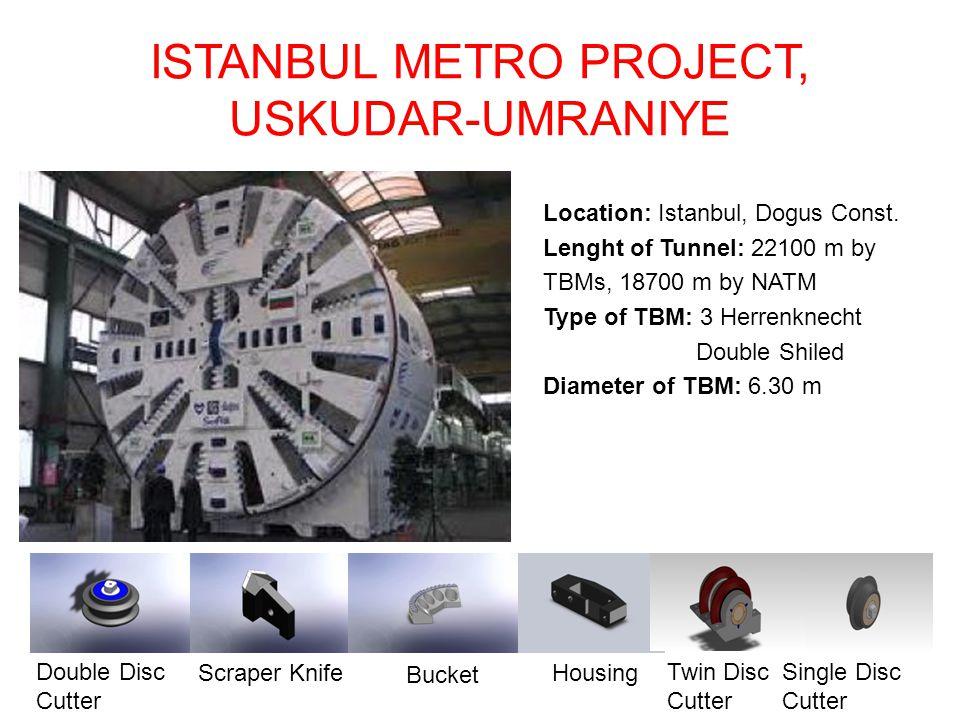 ISTANBUL METRO PROJECT, USKUDAR-UMRANIYE